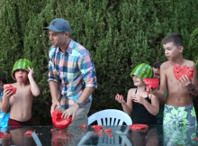 Skin your Watermelon Party - The Coolest Trick ( Video)