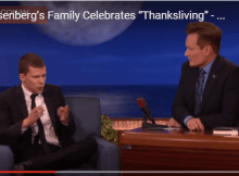 ( video)How Does Actor Jesse Eisenberg Celebrate Vegan Thanksgiving ?