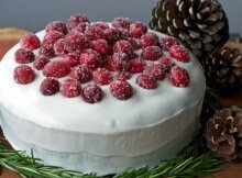 Are You Ready For A Vegan Christmas Cake ?