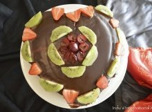 Vegan Chocolate Love Cake