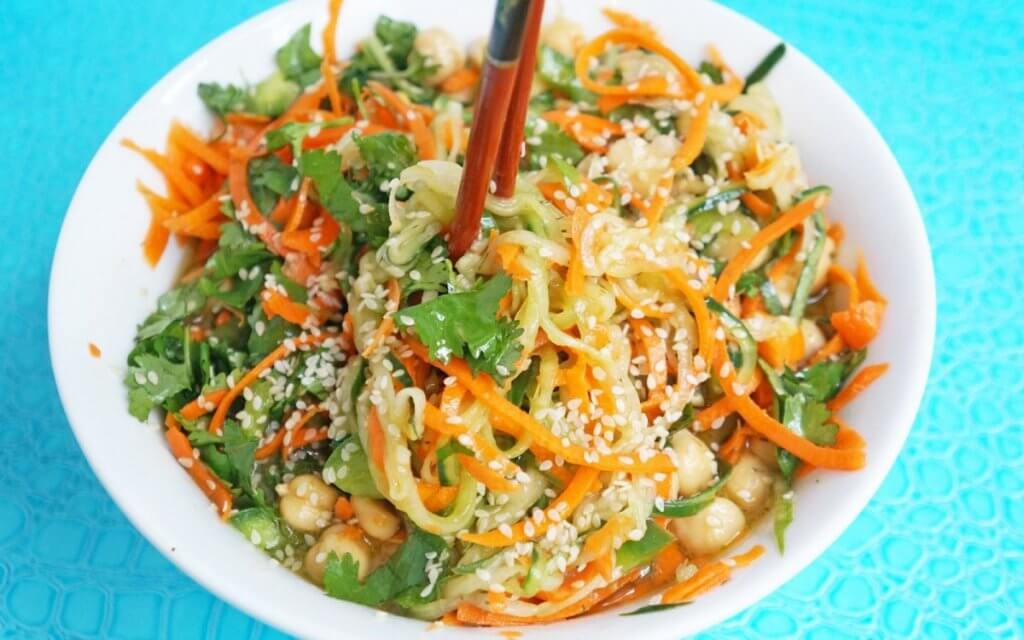 Spring Is Coming With Vegan Veggie Noodle Recipes