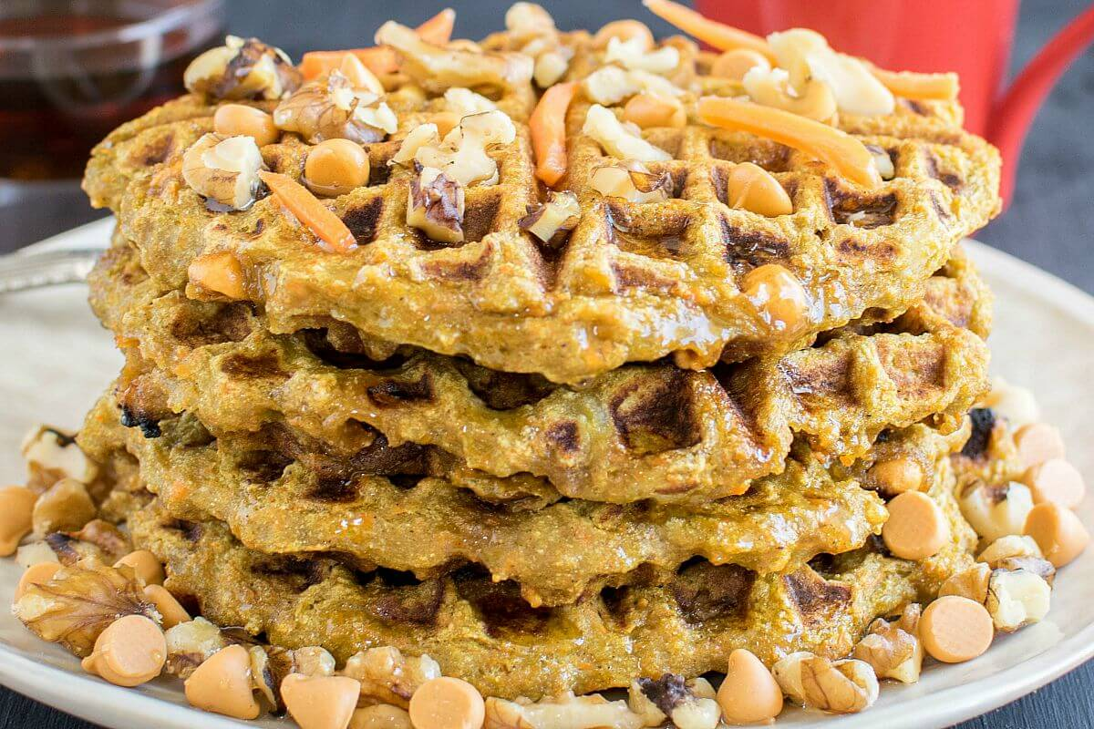 Vegan Waffle Diversity From Sweet To Savory