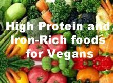 The Best High Protein and Iron-Rich foods for Vegans