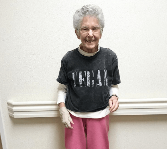 Go Vegan - The Amazing Story Of 96-Year-Old Anne
