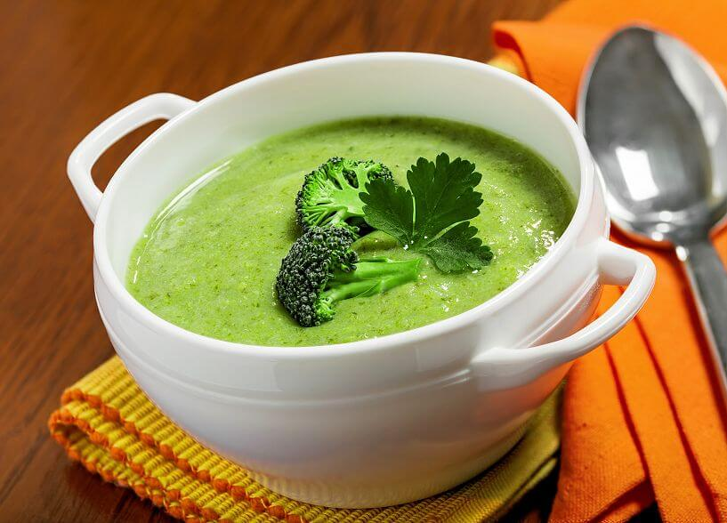 See How Easily You Can Cook Like A Modern Vegan Chef-broccoli soup