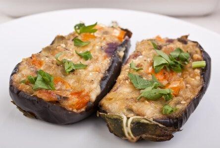 See How Easily You Can Cook Like A Modern Vegan Chef-stuffed eggplant