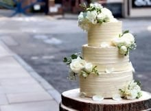 wedding cake plant-based