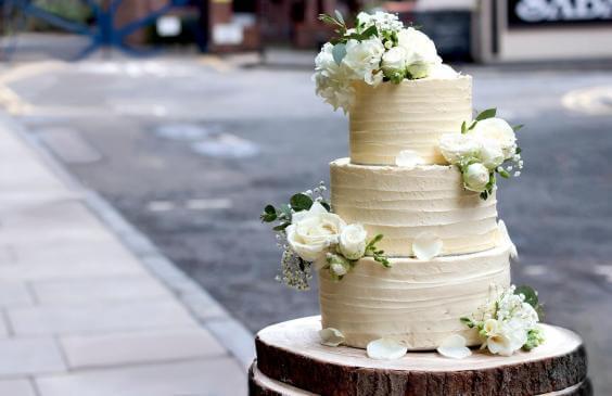 wedding cake of the royality's