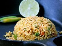 Tawa Pulao A Colorful Indian Vegan Recipe (Video)
