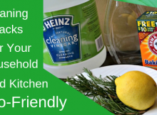 Eco Friendly Spring Cleaning Hacks For Your Household And Kitchen